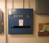 Fire Alarm Panel Replacement (BEFORE)